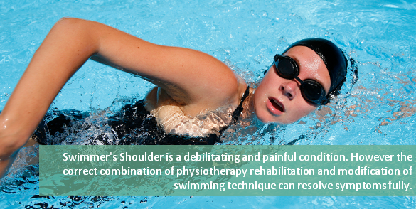 swimmers shoulder physiotherapy