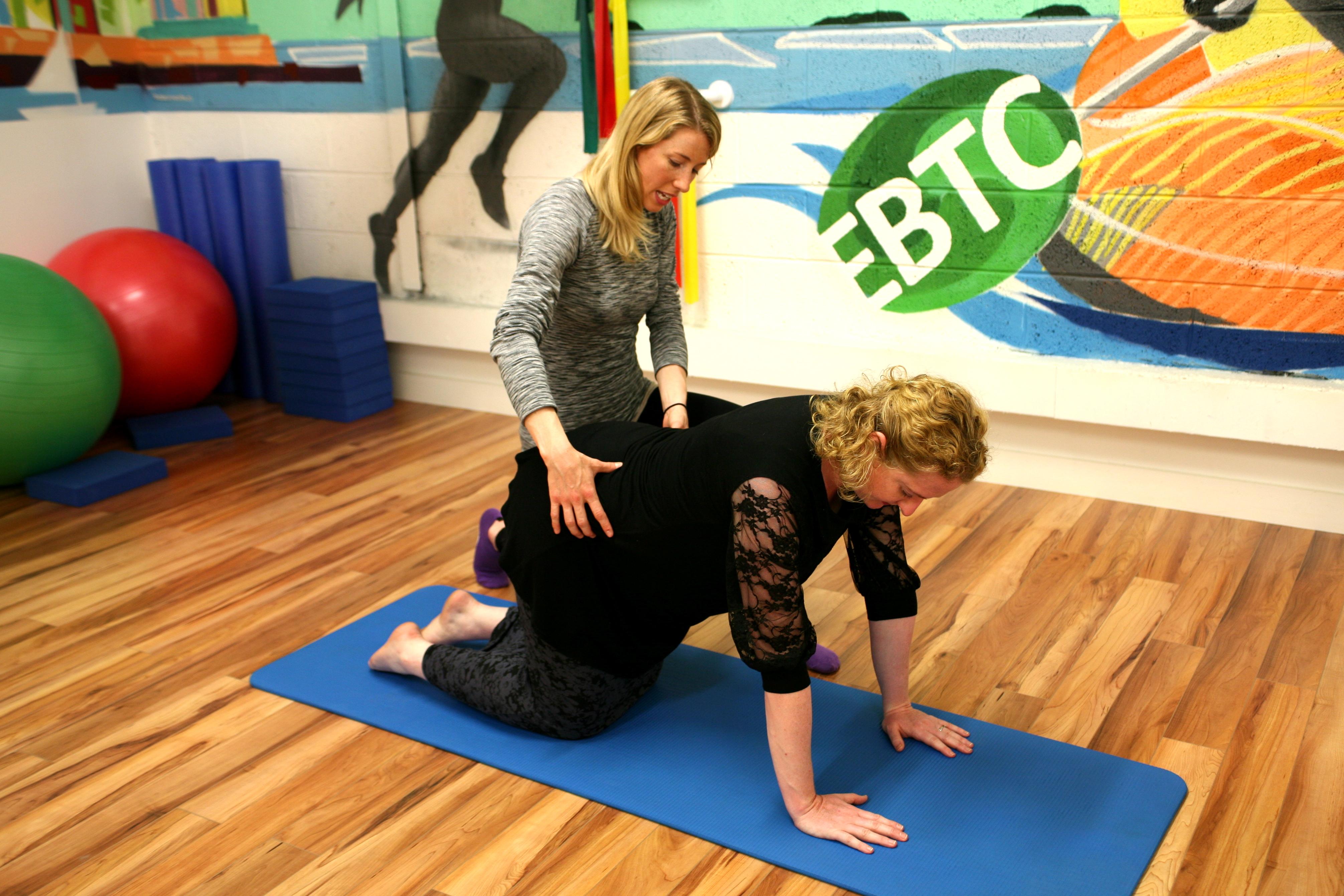 Exercises for pelvic girdle pain
