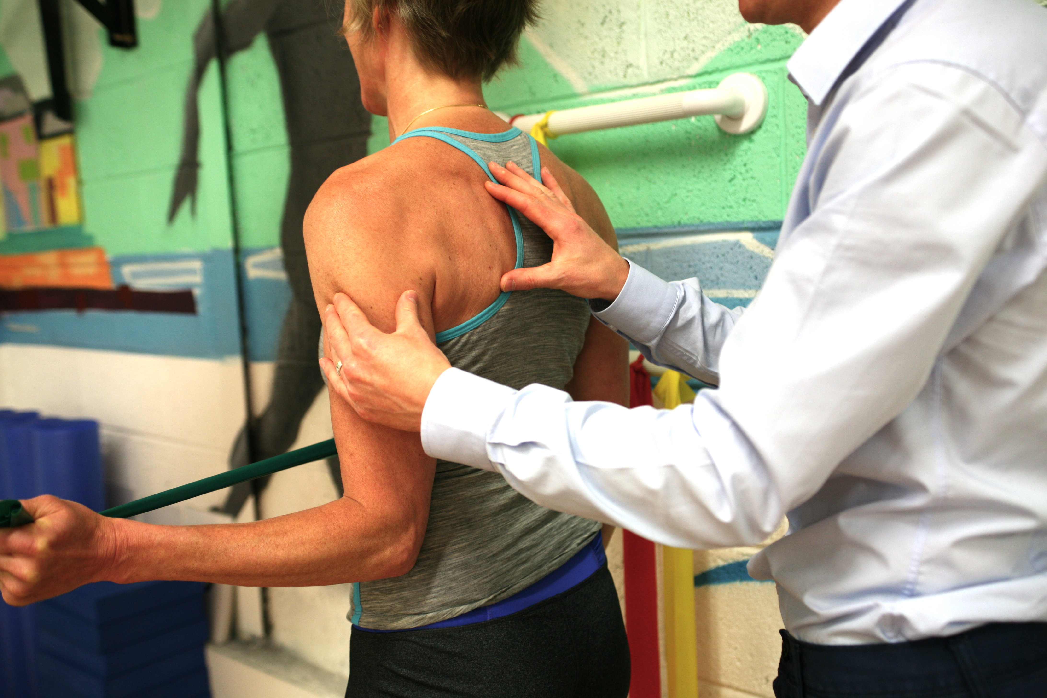 Exercise to strengthen the rotator cuff