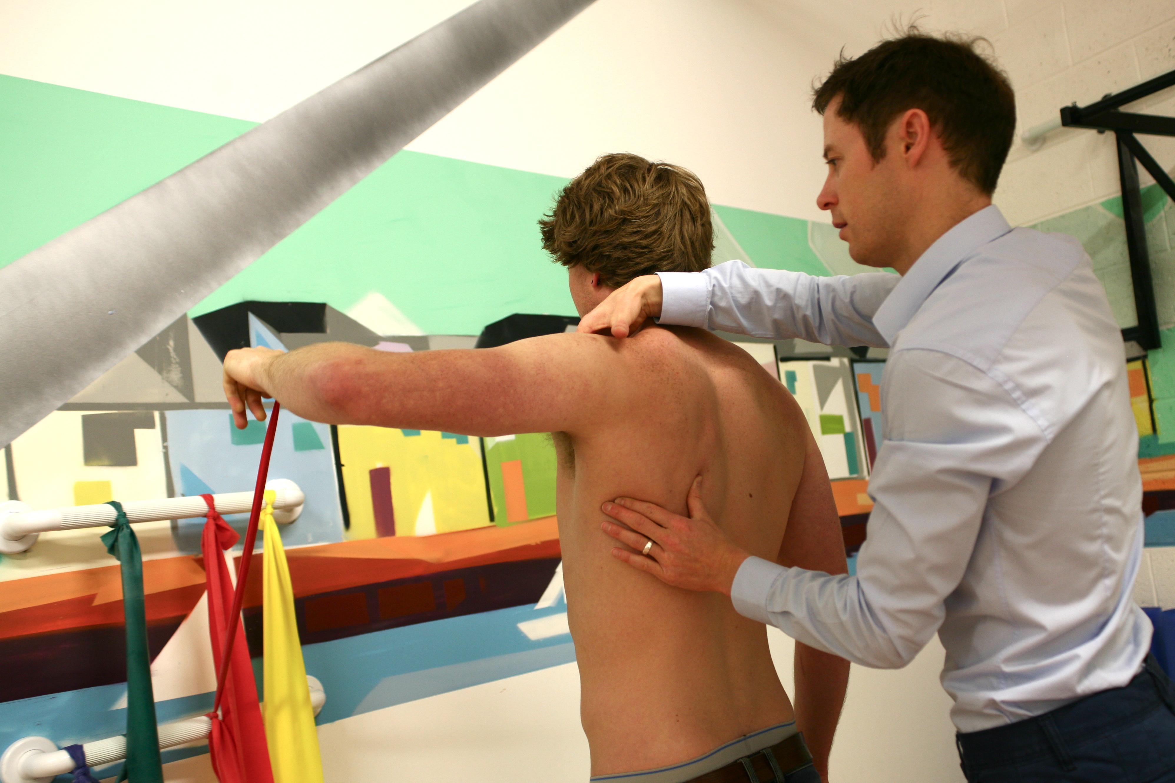 Eoin O Conaire Shoulder rehabilitation