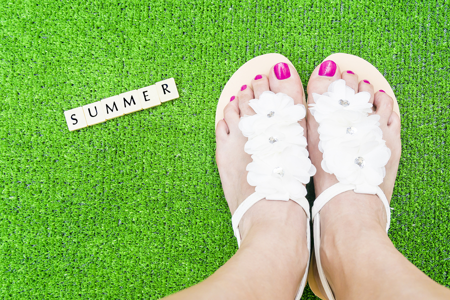 Summer Woman Feet