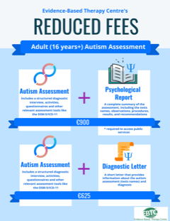 Autism reduced fees